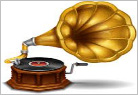 gramophone/records/cassettes