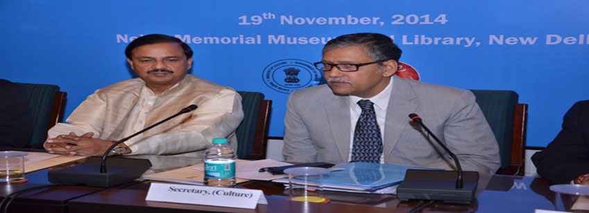 First Annual Meeting of Heads of Organizations under the Ministry of Culture, in New Delhi