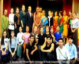 12 January 2017 Phnom Penh: Workshop at Royal University of Fine Arts