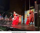 Kathak group perfomance in Lavinio